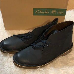 Clark's Bushacre Navy Desert Boots